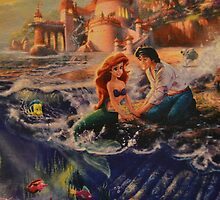 Disney Little Mermaid Princess Ariel Prince Eric  by notheothereye