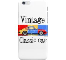 Vintage classic car iPhone Case/Skin