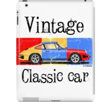 Vintage classic car iPad Case/Skin