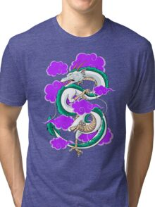 Haku Clouds Tri-blend T-Shirt
