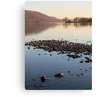 Sunset Over Coniston - Lake District Canvas Print