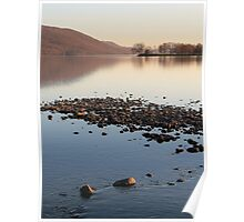 Sunset Over Coniston - Lake District Poster