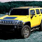 Yellow Hummer by Keith Smith