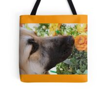 Sniff the Flowers Tote Bag