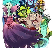 Dota 2 - Death Is Only The Beginning by keterok