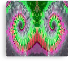 digital tie dye Canvas Print