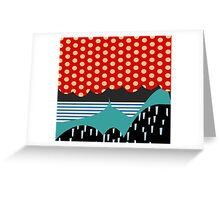 Hills & Patterns 1 Greeting Card
