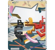 Back to school iPad Case/Skin