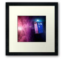T.A.R.D.I.S. Galaxy Framed Print