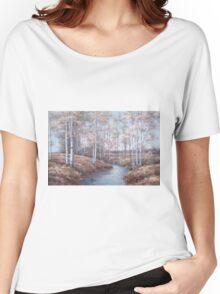 BIRCH CREEK T-shirt femme coupe relax