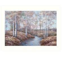 BIRCH CREEK Art Print