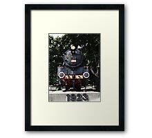 Locomotive 555,1923 Framed Print