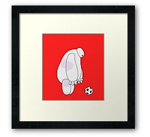 Big Hero 6 - Baymax (Red) Framed Print
