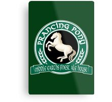 The Prancing Pony Metal Print