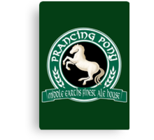 The Prancing Pony Canvas Print