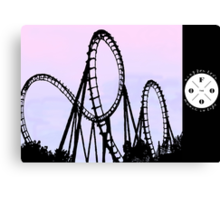 The FOOO Roller Coaster Canvas Print