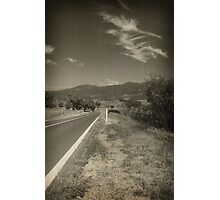 Road to Somewhere Photographic Print