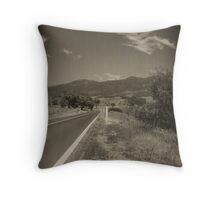 Road to Somewhere Throw Pillow