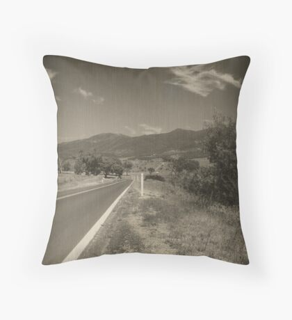 Road to Somewhere Throw Pillow