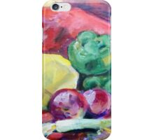 Colorful Vegetables iPhone Case/Skin