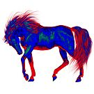 A Magical Horse .. tee shirt by LoneAngel