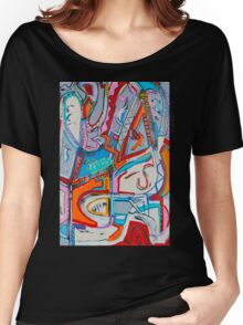 The Face of a Clown Women's Relaxed Fit T-Shirt