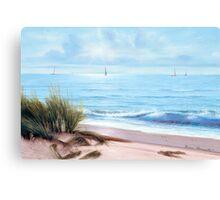SANDPIPER BEACH Canvas Print