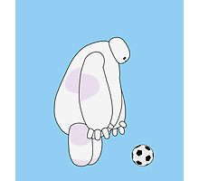 Big Hero 6 - Baymax (Light Blue) Photographic Print