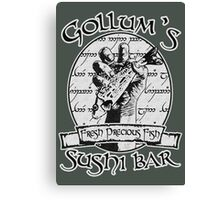 Gollum's Sushi Bar - Fresh Precious Fish Canvas Print