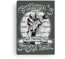 Gollum's Sushi Bar - Fresh Precious Fish Canvas Print
