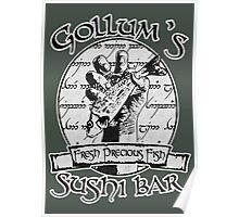 Gollum's Sushi Bar - Fresh Precious Fish Poster