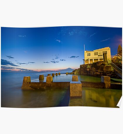 Coogee Sunrise Poster