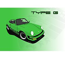 My own 911 in green version Photographic Print