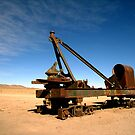 Abandoned rolling stock, Uyuni by Elaine Stevenson