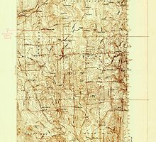 Maine USGS Historical Map Mars Hill 806880 1936 48000 by wetdryvac