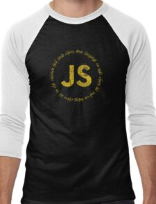 JavaScript - One language to rule them all Men's Baseball ¾ T-Shirt