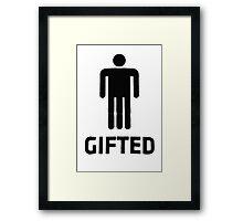 GIFTED Framed Print