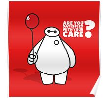 Nurse Baymax Poster
