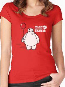 Nurse Baymax Women's Fitted Scoop T-Shirt