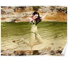 citrus beach Poster
