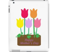 Happy Mother's Day Tulips iPad Case/Skin