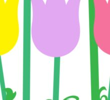 Happy Mother's Day Tulips Sticker