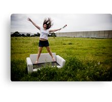 to be fancy free Canvas Print