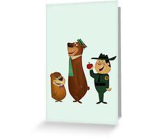 Yogi & Co. Greeting Card