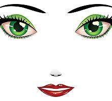 Woman's Face by AnnArtshock