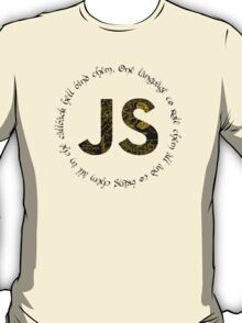 JavaScript - One language to rule them all T-Shirt