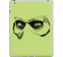 eyes face iPad Case/Skin