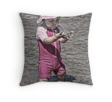 Youthful Explorations Throw Pillow
