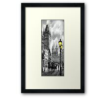 BW Prague Old Town Squere Framed Print