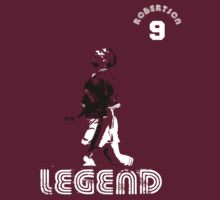 Hearts legend John Robertson by ScottishFitba